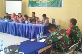 Koramil Jagoi Babang sosialisasi program desa mandiri cegah Karhutla
