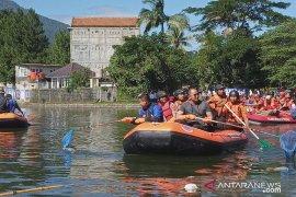 Bupati Bogor gelar aksi bersih-bersih situ untuk pengendalian banjir