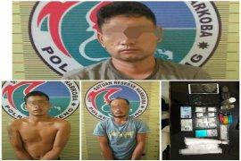 Polisi ringkus 3 pemakai sabu dan amankan barang bukti 40 gram di Tapteng