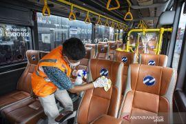 Angkutan umum lakukan pencegahan Corona