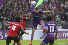 Liga 1: Persik vs Bhayangkara, Macan Putih gagal menang di kandang