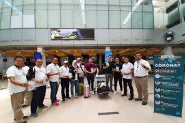 Forum sinergi BUMN Jambi bagikan masker cegah corona