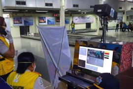 PT. AP I Cabang Bandara Pattimura Ambon terapkan protokol kesehatan penumpang