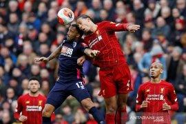 Liverpool kembali ke jalur kemenangan dengan tundukkan Bournemouth