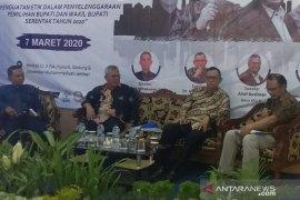 Di Jember, DKPP ingatkan netralitas ASN dan politik uang jelang pilkada serentak
