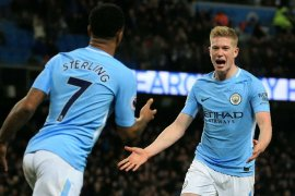 Manchester City segera negosiasi kontrak baru dengan Sterling dan De Bruyne