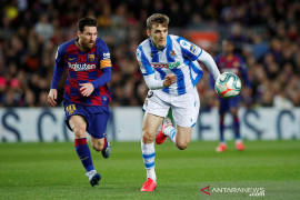 Liga Spanyol desak klub potong gaji pemain