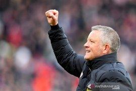 Manajer Sheffield United Chris Wilder berharap bisa segera tancap gas lagi