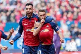Liga Spanyol, Osasuna buat Espanyol kian terpatri di dasar klasemen