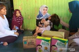 PKK Kotabaru cares and donates hydrocephalus childs