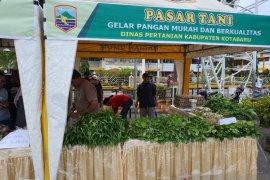 Dinas pertanian Kotabaru gelar Pasar Tani