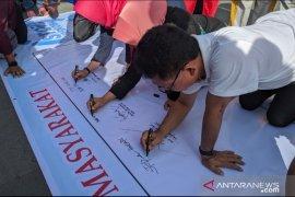 Masyarakat di Kota Pontianak deklarasikan antinarkoba