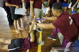 KONI Gianyar gandeng IKIP BU Malang adakan  tes fisik atlet