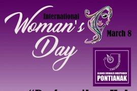 International Women's Day, AJI Pontianak suarakan perempuan peladang pejuang kehidupan