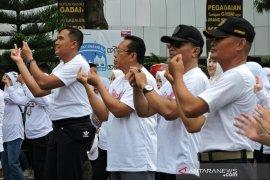Polres Situbondo kampanyekan hidup sehat lewat gerakan tik tok cuci tangan
