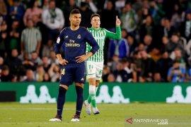Real Madrid terjegal di Betis sehingga gagal kembali ke puncak klasemen