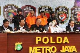 Polisi Jakarta ringkus dua pelaku pencuri motor bersenjata api