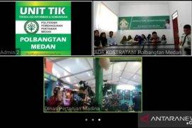 Sukses Kostrada, Bupati Madina telekonference sapa Polbangtan Medan