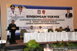 Pemkab Gorontalo Utara benahi pelaksanaan aplikasi e-Monep