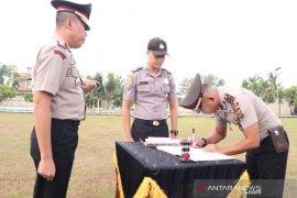 Pejabat Polres Aceh Utara teken pakta integritas bebas narkoba