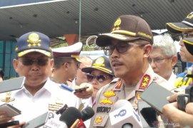 Polisi tindak truk ODOL di jalur Tol Tanjung Priok-Bandung
