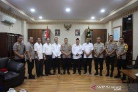 Komisioner KPU temui Kapolda Maluku bangun sinergitas terkait Pilkada 2020