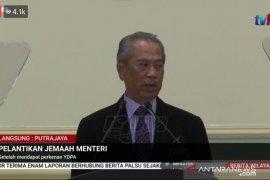Daftar menteri-menteri baru  Malaysia