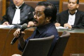 Gubernur Kepri Nurdin Basirun dituntut 6 tahun penjara