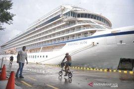 Di Bali, turis kapal pesiar Viking Sun tambah 107 orang (video)