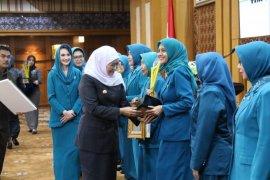 Kediri raih terbaik pertama pelaksana 10 Program Pokok PKK tingkat Jatim