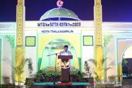 Wali Kota Tanjungbalai : Jadikan Al Qur'an sebagai landasan pembangunan perilaku