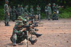 Tingkatkan kemampuan prajurit, Korem 042/Gapu gelar latihan menembak