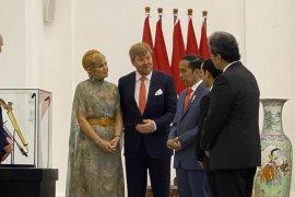 Raja Belanda kembalikan keris Pangeran Diponegoro ke Presiden Joko Widodo