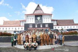 133 calon petani millenial Polbangtan Medan PKL di Tapanuli Selatan