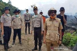 Kebakaran lahan gambut di Aceh Jaya terus meluas