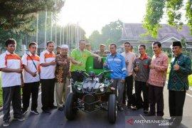 Siswa SMKN I Lingsar Lombok Barat bikinmotor listrik ramah lingkungan