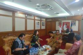 Konsultasi ke Dirjen Otda, Ketua DPRD bahas RUU Cipta Kerja