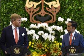 Presiden Joko Widodo sambut baik investasi satu miliar dolar dari Belanda