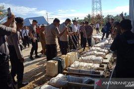 Polres Pohuwato musnahkan 15 ribu liter miras captikus