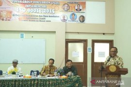Unja  implementasikan ISO 9001:2015
