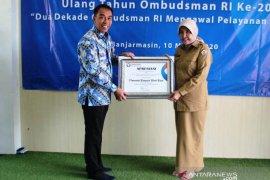 Mal pelayanan publik Batola raih penghargaan ombudsman