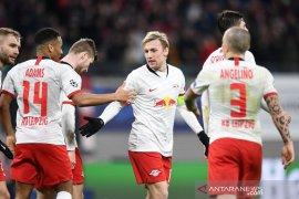 Leipzig mulus ke perempat final setelah lumat Tottenham 3-0