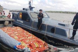BC Teluk Nibung gagalkan upaya penyelundupan 10 ton bawang bombay