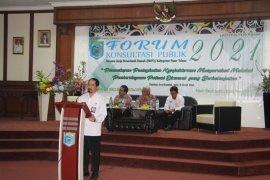 Pemkab Paser gelar konsultasi publik RKPD 2021