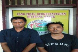 Satresnarkoba Polres Binjai ringkus dua tersangka pemilik sabu-sabu