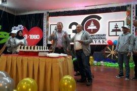 Futsal antarhotel meriahkan HUT Hotel Internasional Sibayak Berastagi ke-30