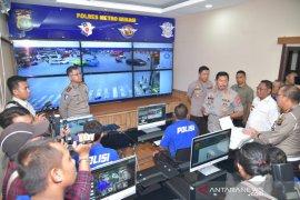 Polres Bekasi mulai lakukan uji coba tilang elektronik