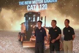 Trakindo luncurkan motor grader Cat 120 untuk wilayah Kalsel