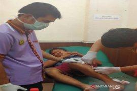 Polisi Banjarmasin menembak pelaku pengancaman dan penganiayaan