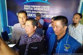 Wali Kota Banjarmasin mengikut seleksi bakal calon di DPC Partai Demokrat